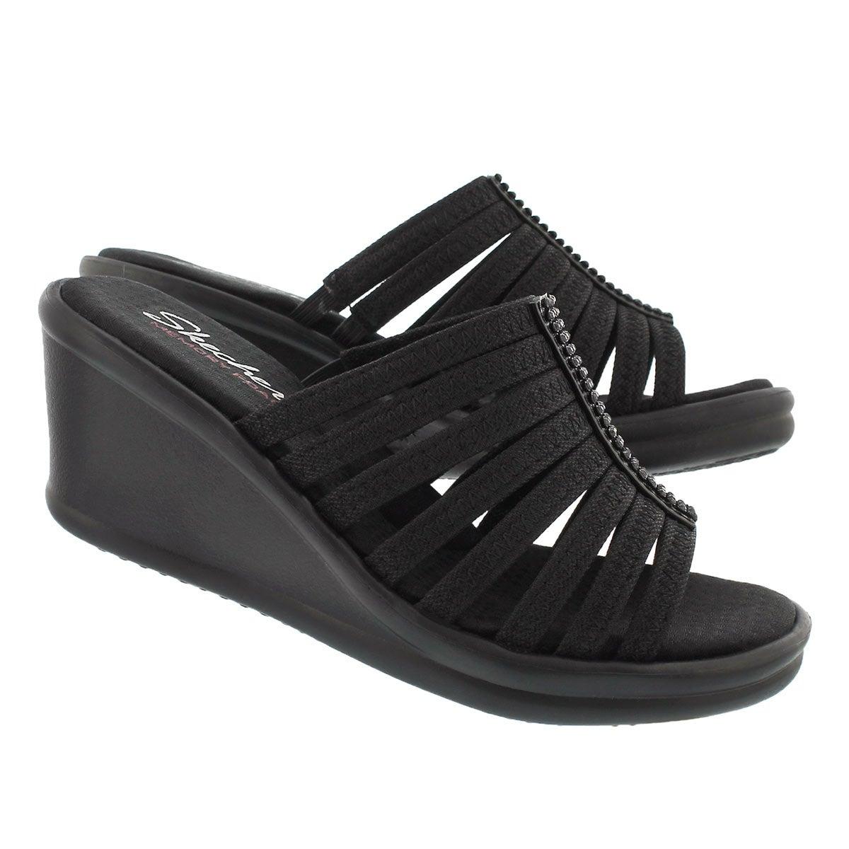 Sandale à talon comp Hotshot, noir, fem