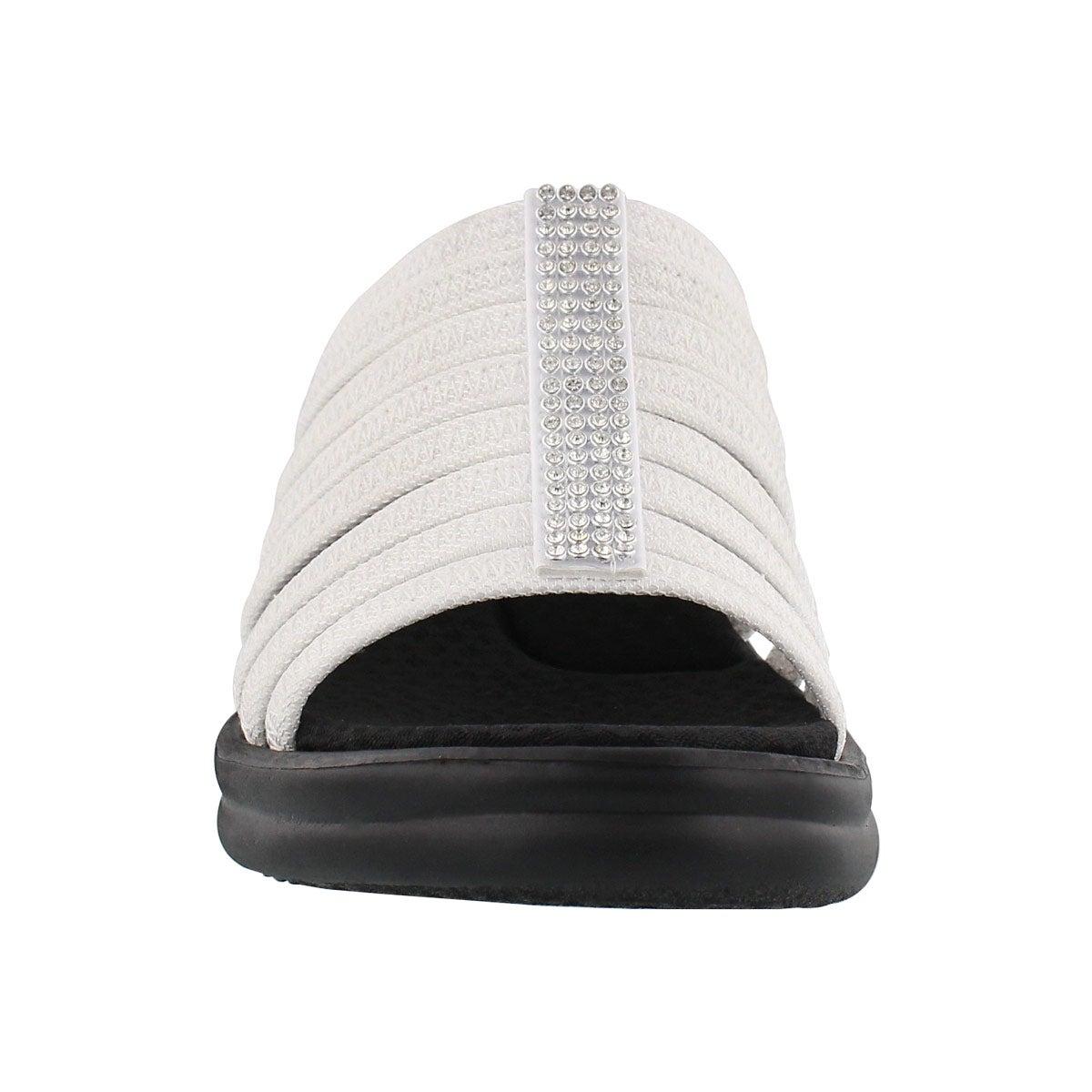 Lds Hotshot white wedge sandal