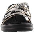 Lds Wild Child pewter wedge sandal