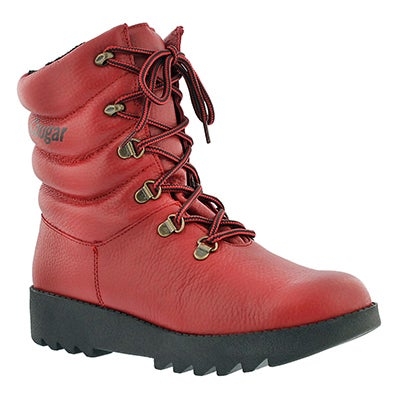 Cougar Women's 39068 ORIGINAL red wtrpf winter boots