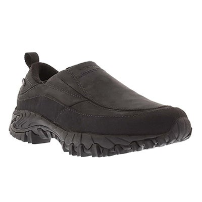 Merrell Men's SHIVER MOC 2 black waterproof slip on shoes