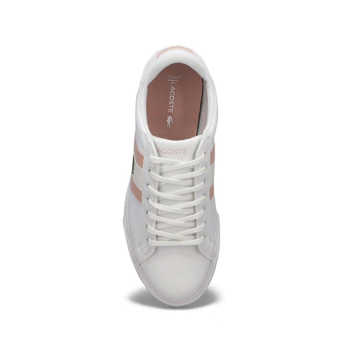 Lds Grad Vulc 120 1 wht/pnk sneaker