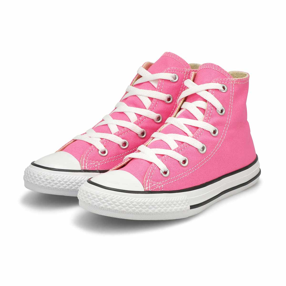 Grls CTAS Core pink high top sneaker