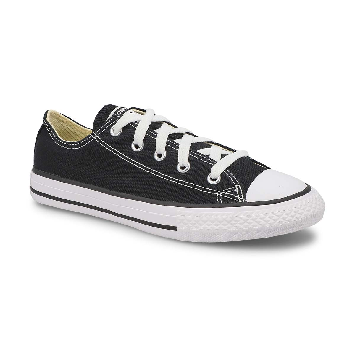 Kids' CHUCK TAYLOR ALL STAR black sneakers
