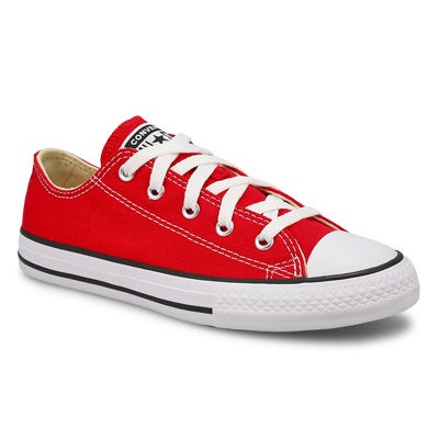 Kids' CHUCK TAYLOR ALL STAR red sneakers