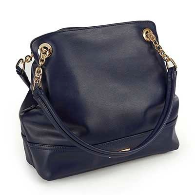 Heys Women's CHAIN navy double strap shoulder bag