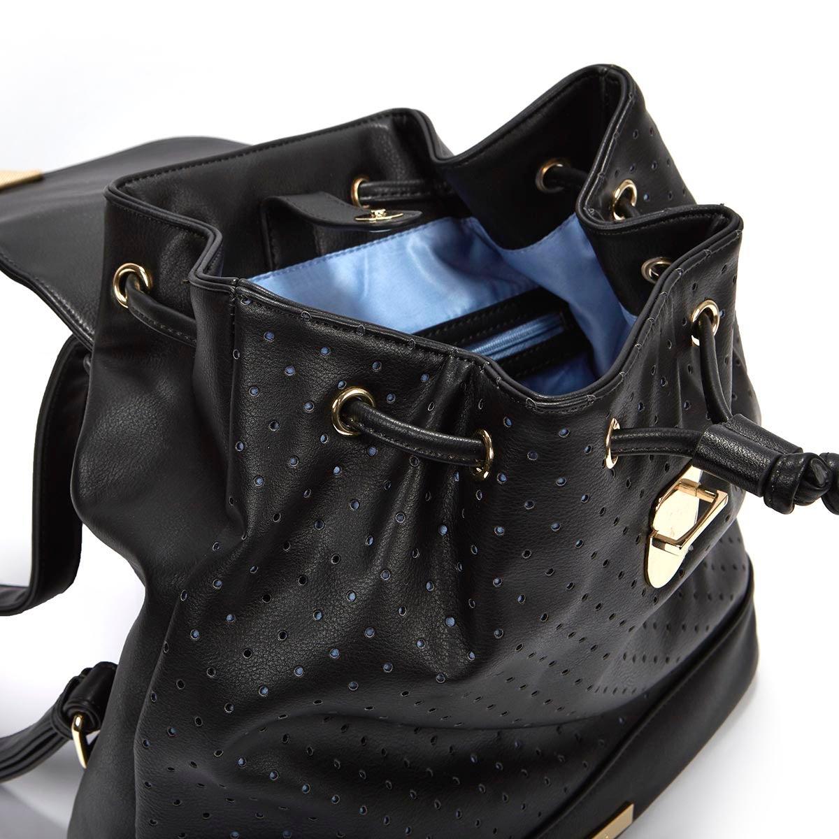 Lds Laser black dot backpack