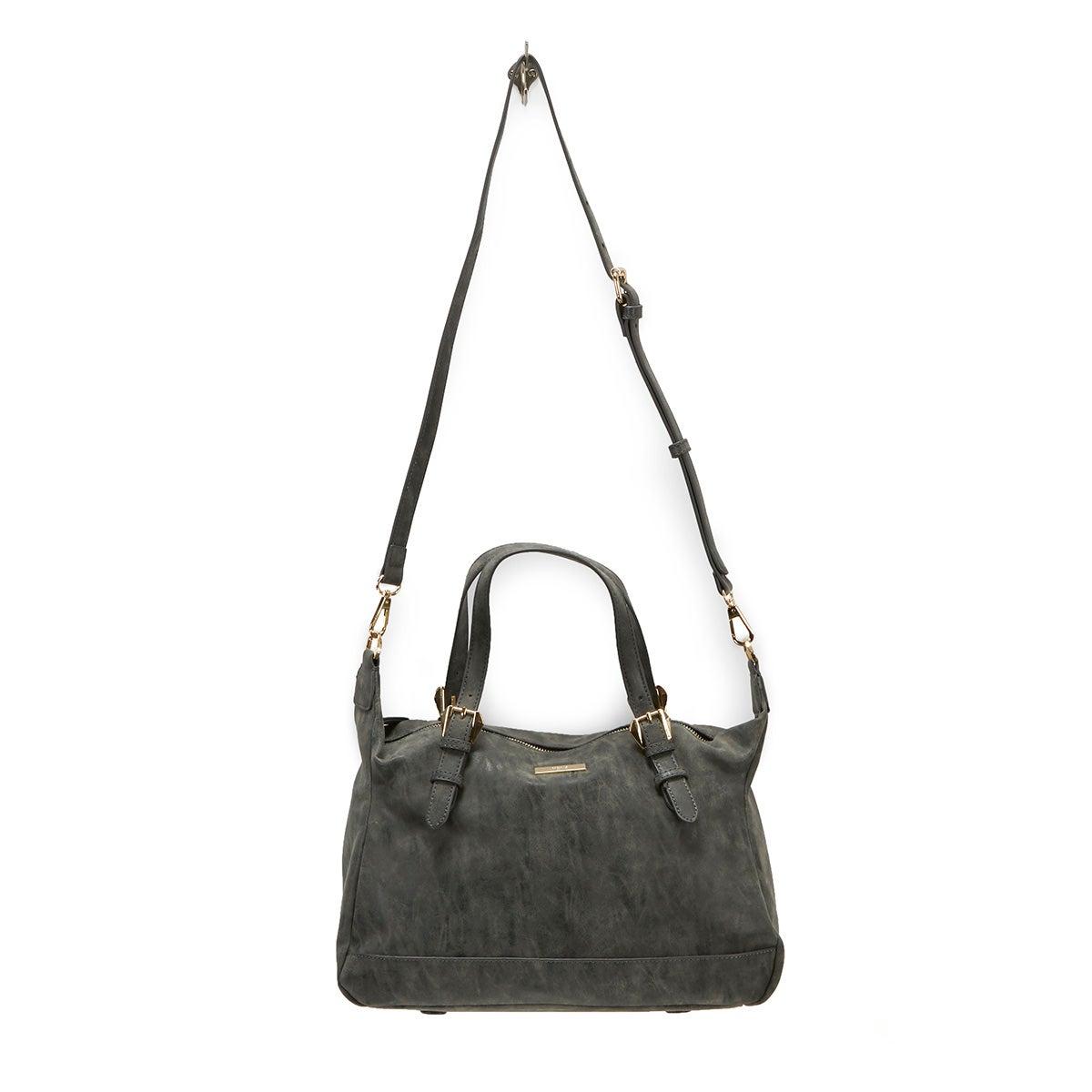 Lds Vintage black satchel