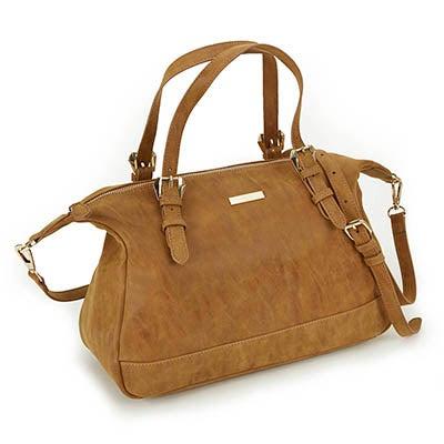 Heys Women's VINTAGE cognac satchel