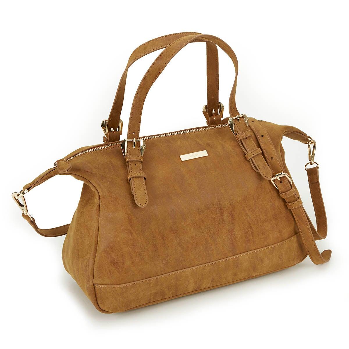 Lds Vintage cognac satchel