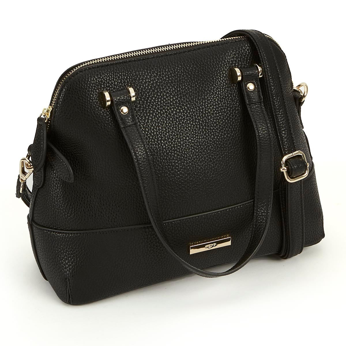Lds Everyday Essentials blk dome satchel