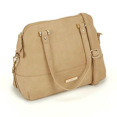 Heys Women's EVERYDAY ESSENTIALS taupe dome satchel