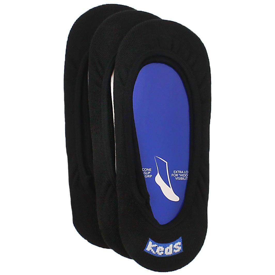 Women's TT SKIMMER black socks - 3 pack