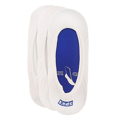 Keds Women's TT SKIMMER white socks - 3 pack