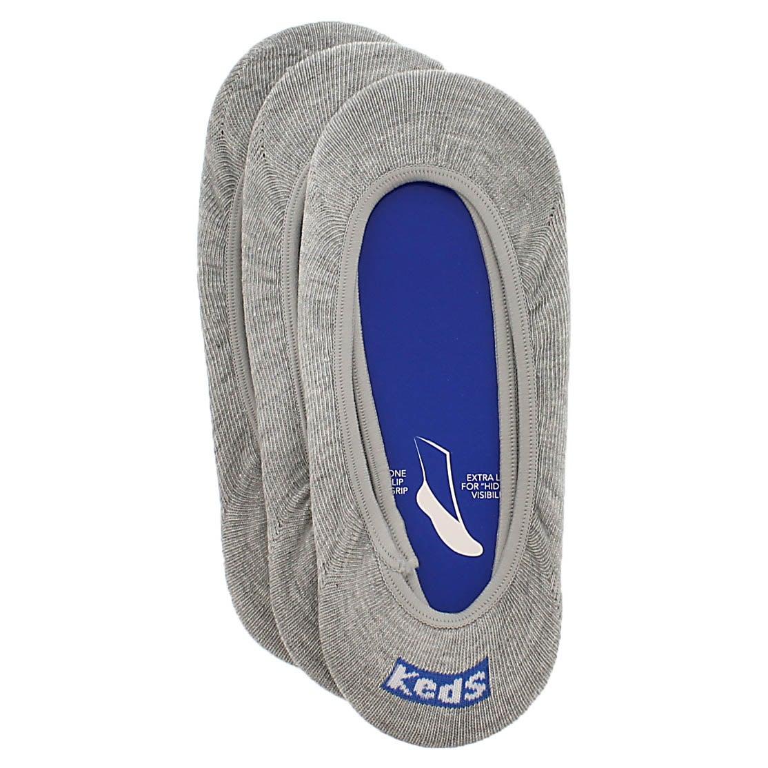 Lds TT Skimmer grey 3 pack socks