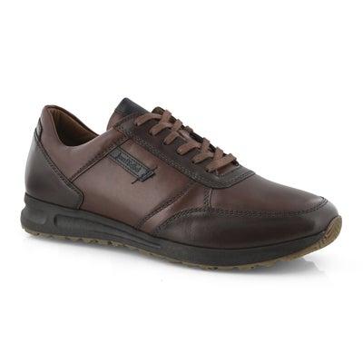 Mns Thaddeus 07 cognac lace up sneaker