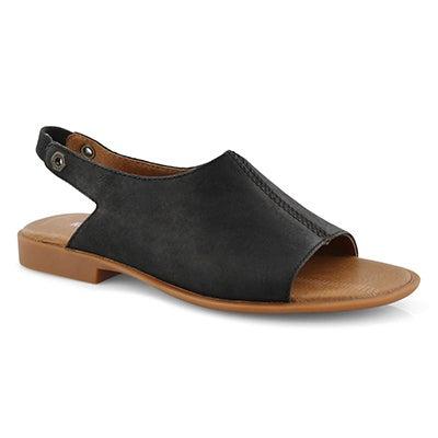 Lds Makenna black casual sandal