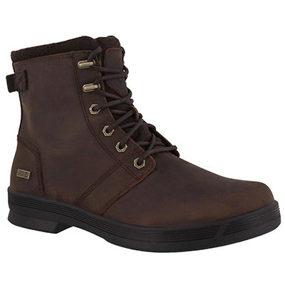 Mns Rhode dk brn wtpf laceup winter boot