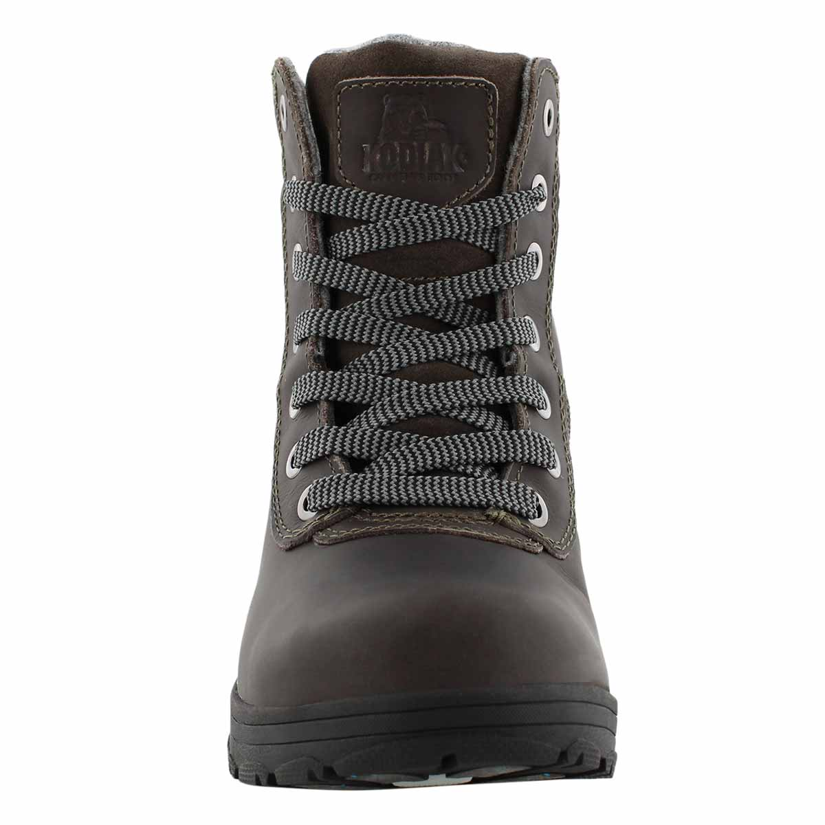 Lds Shari grey wtpf lace up winter boot