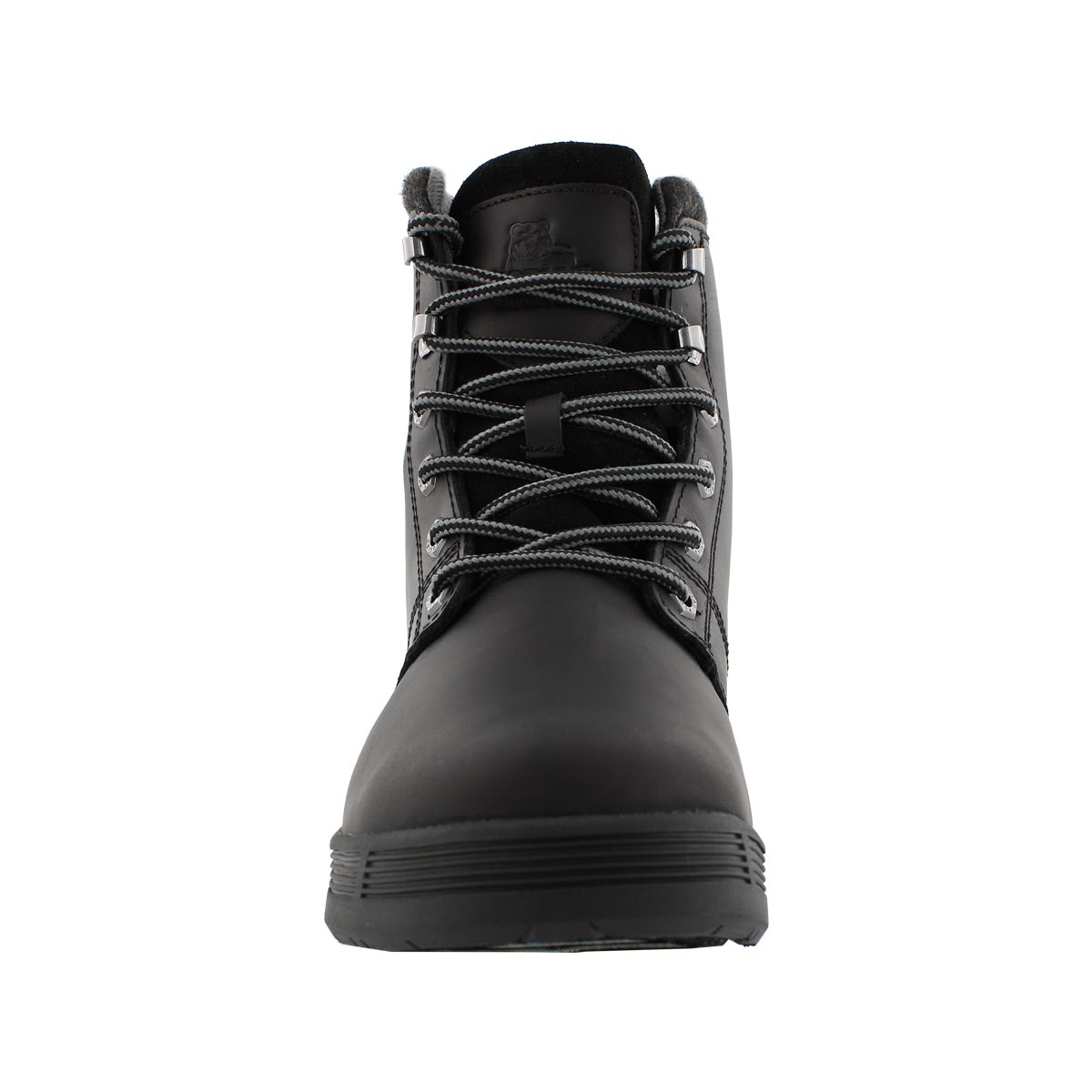Mns Rhode II blk wp laceup winter boot