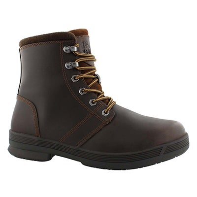 Mns Rhode II dkbrn wp laceup winter boot