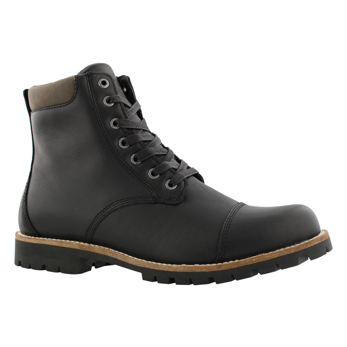 Mns Berkley blk wtpf lace up boot