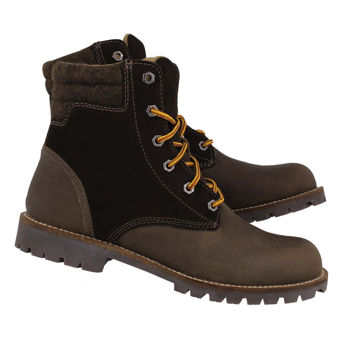 Mns Bronx olive wtpf ankle boot