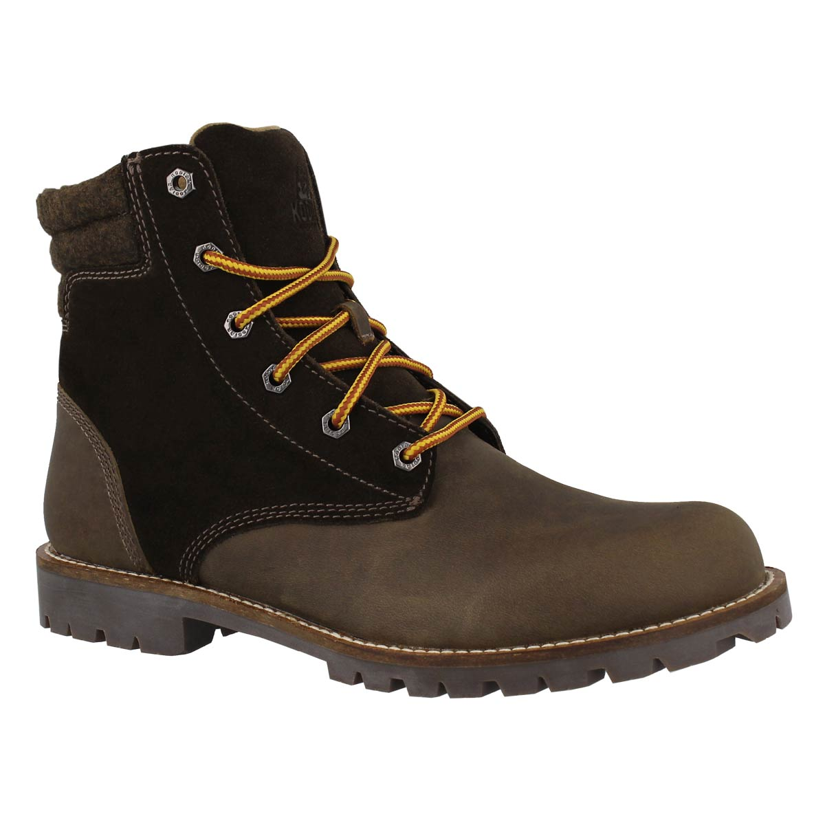 Men's BRONX olive waterproof ankle boots
