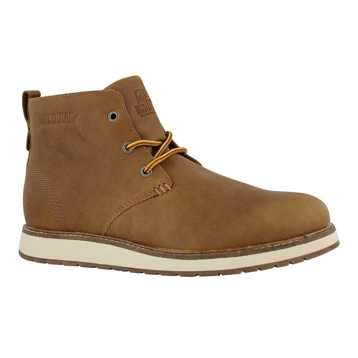 Mns Chase caramel wtpf 3-eye ankle boot