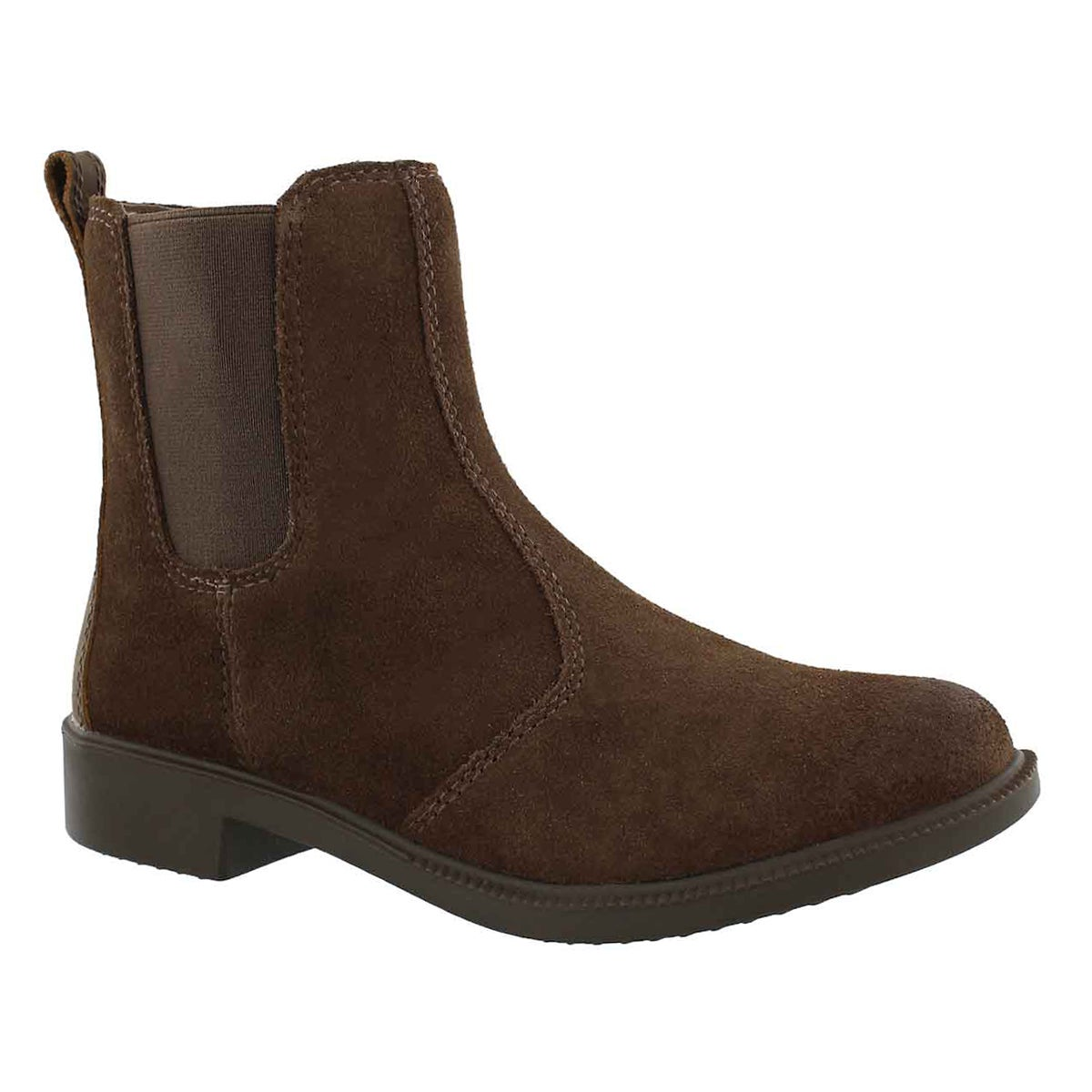 Women's BRIA gold waterproof chelsea boots