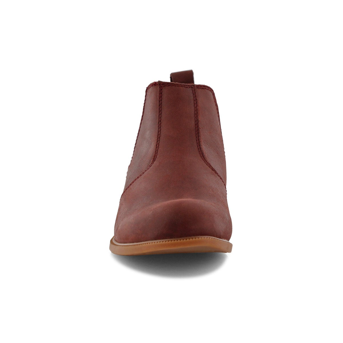 Lds Low-Rider red chelsea boot