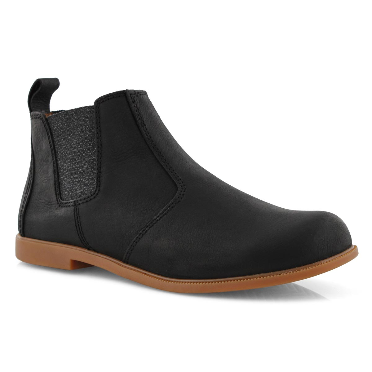 Lds Low-Rider black chelsea boot