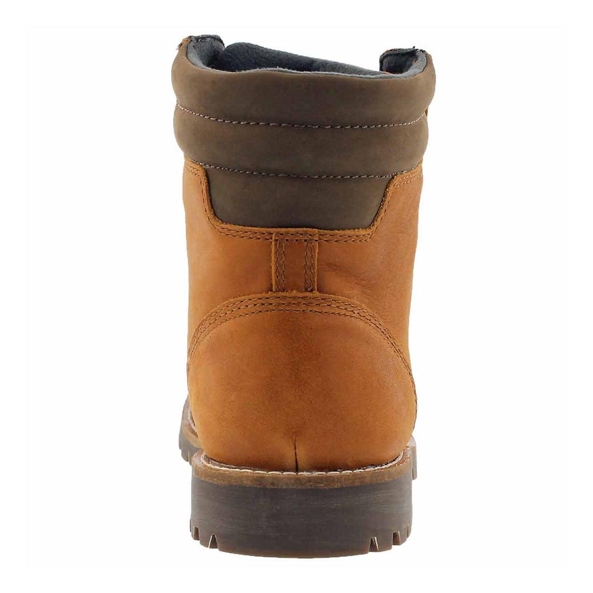 Mns Magog wtpf caramel ankle boot