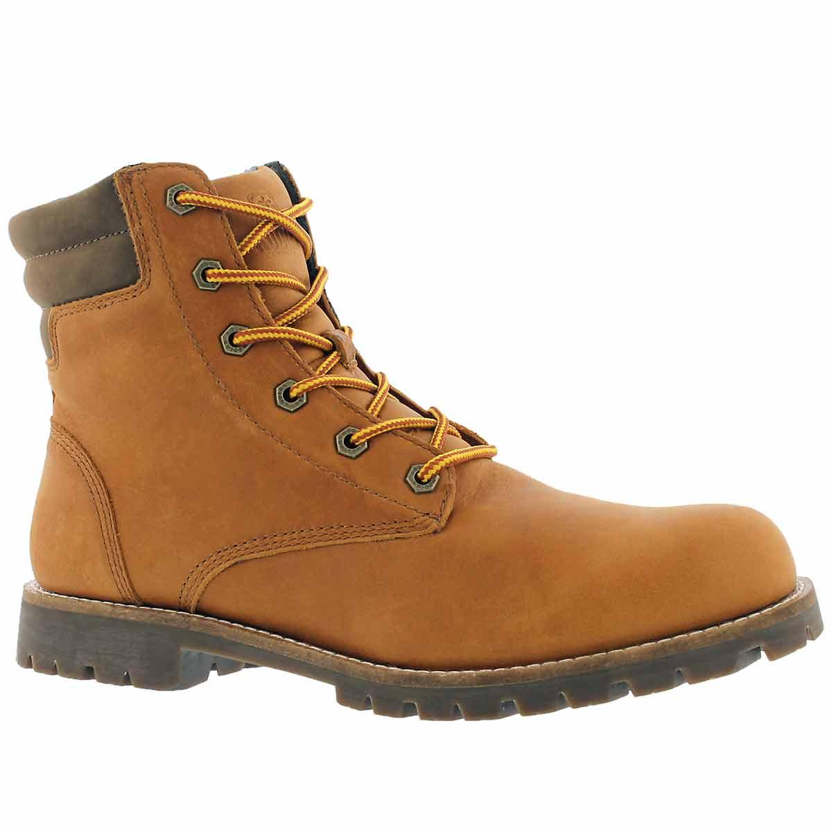 Men's MAGOG waterproof caramel ankle boots