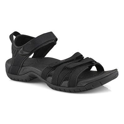 Lds Tirra blk/blk sport sandal