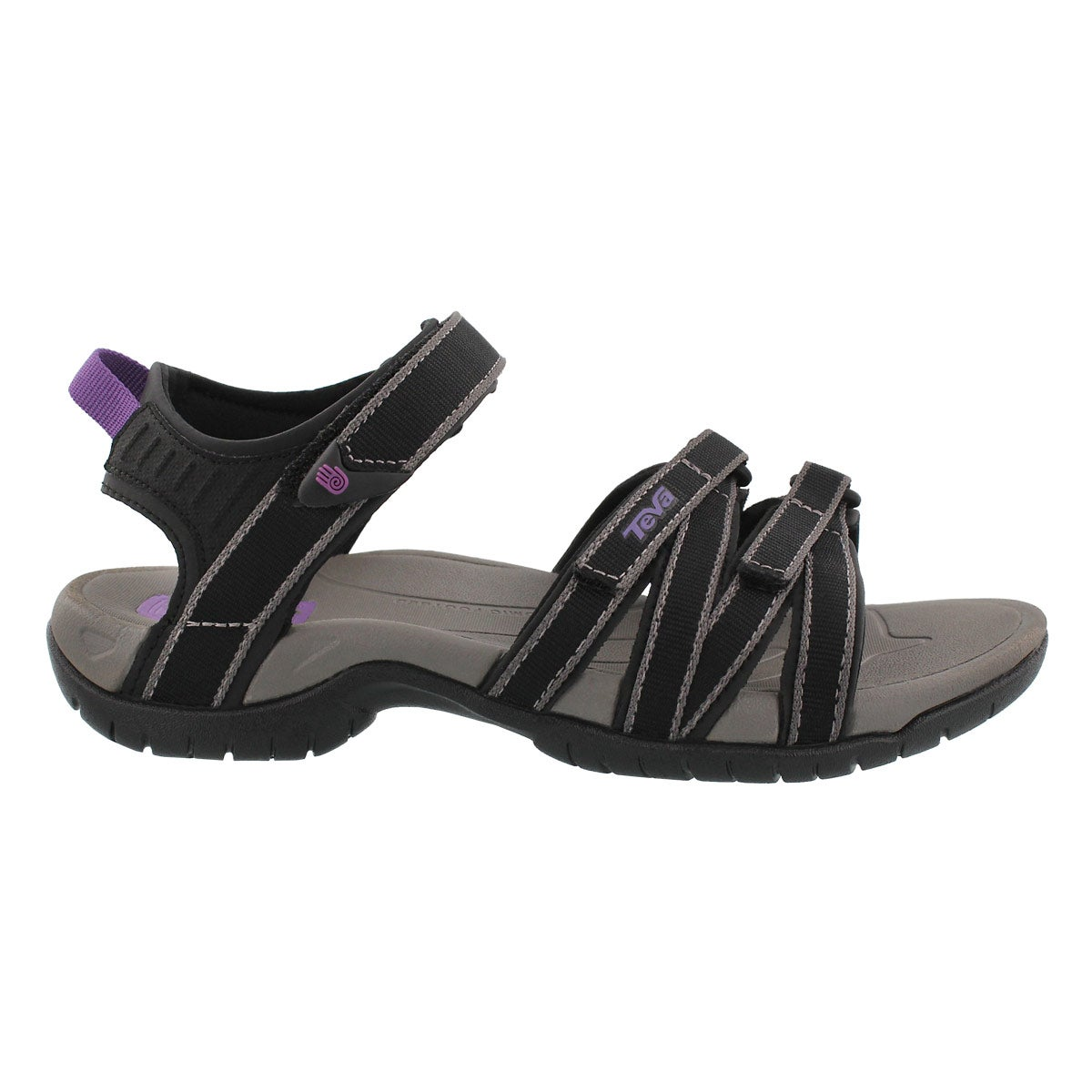 Lds Tirra black/grey sport sandal