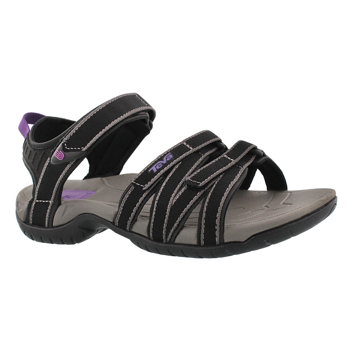 Women's TIRRA black/grey sport sandals