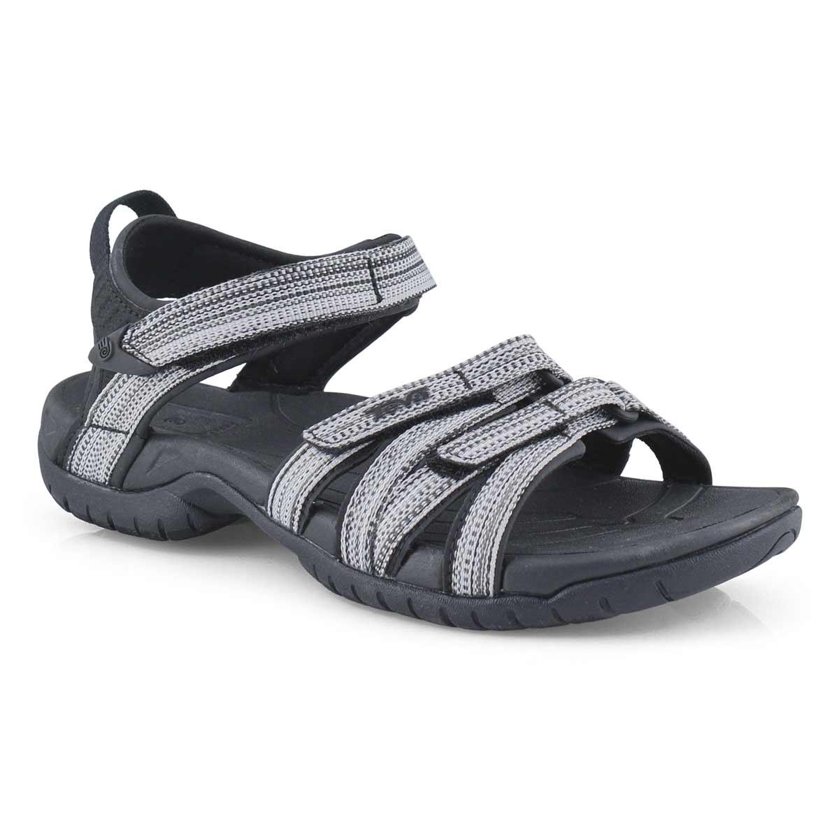 Lds Tirra black/white sport sandal
