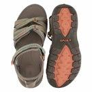 Lds Tirra taupe multi sport sandal