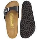 Lds Madrid magic galaxy blk slide sandal