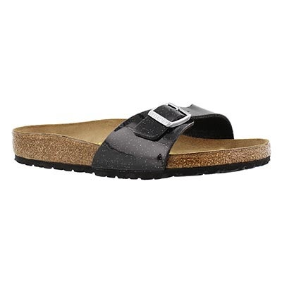Birkenstock Women's MADRID magic galaxy black slide sandals