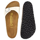 Lds Madrid magic galaxy wht slide sandal