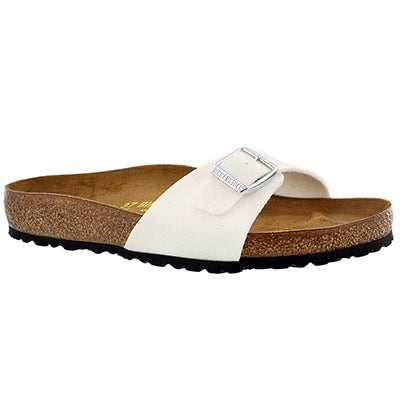 Birkenstock Women's MADRID magic galaxy white slide sandals