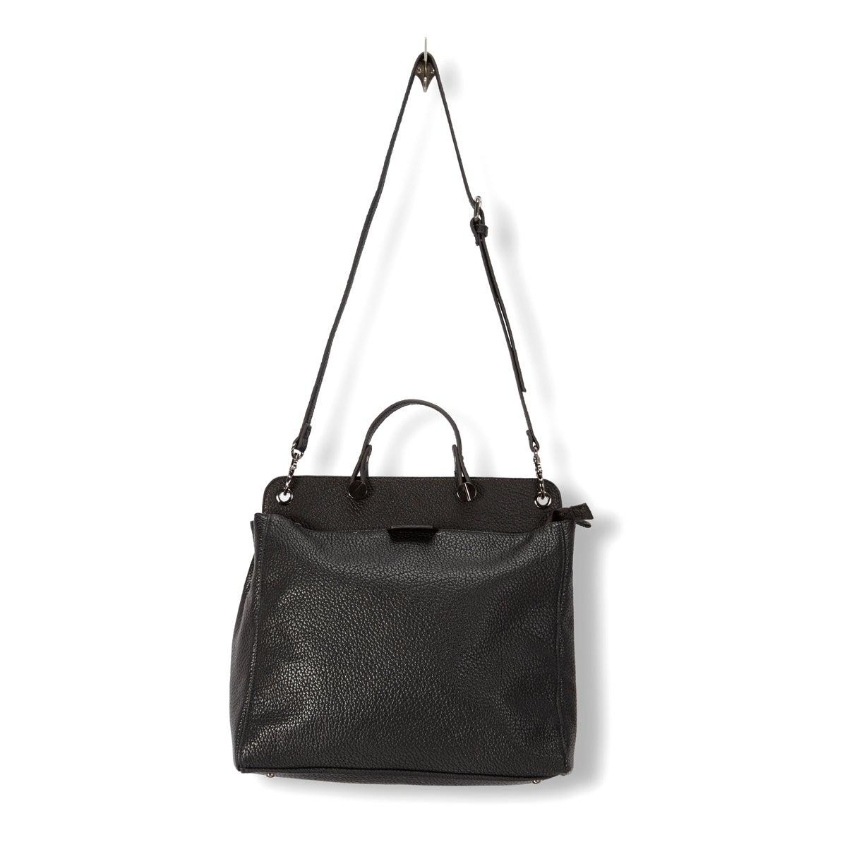 Lds Fara black large tote bag