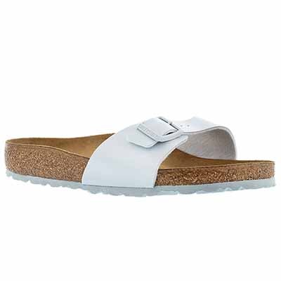 Birkenstock Women's MADRID baby blue single strap sandals