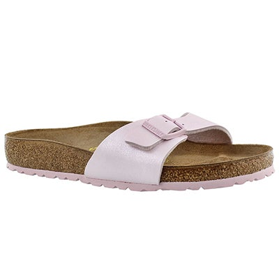 Lds Madrid graceful rose 1 strap sandal