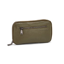 Co-Lab Women's NAPPA WORLD olive wallet