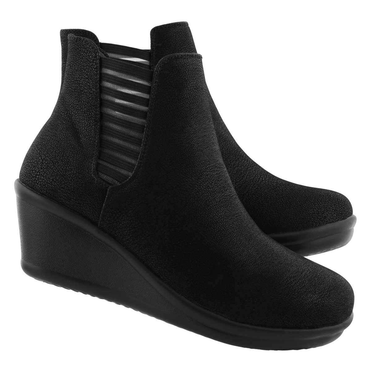 Lds Rumblers Beam Me Up blk chelsea boot