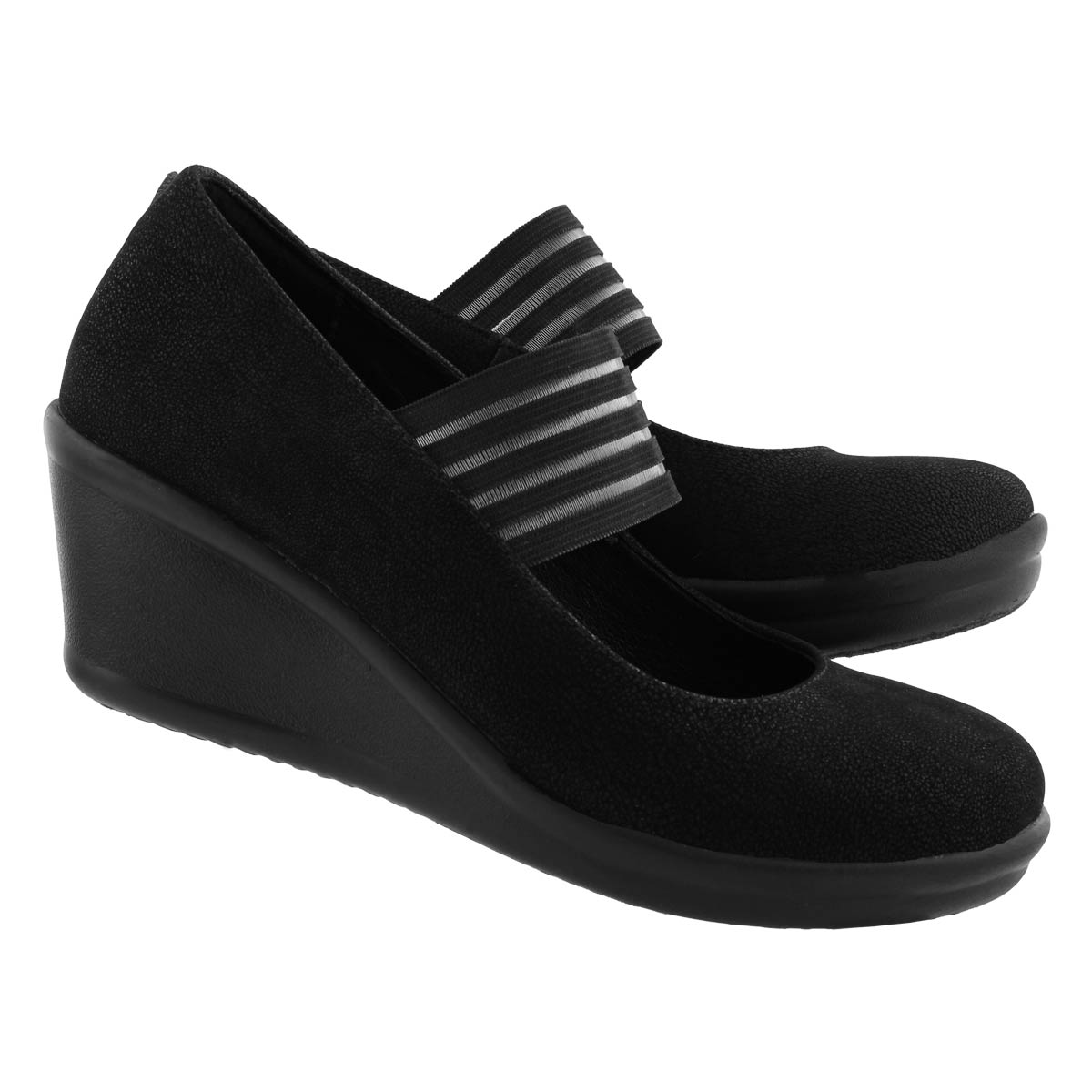 Lds Rumblers Space Odyssey blk wedges