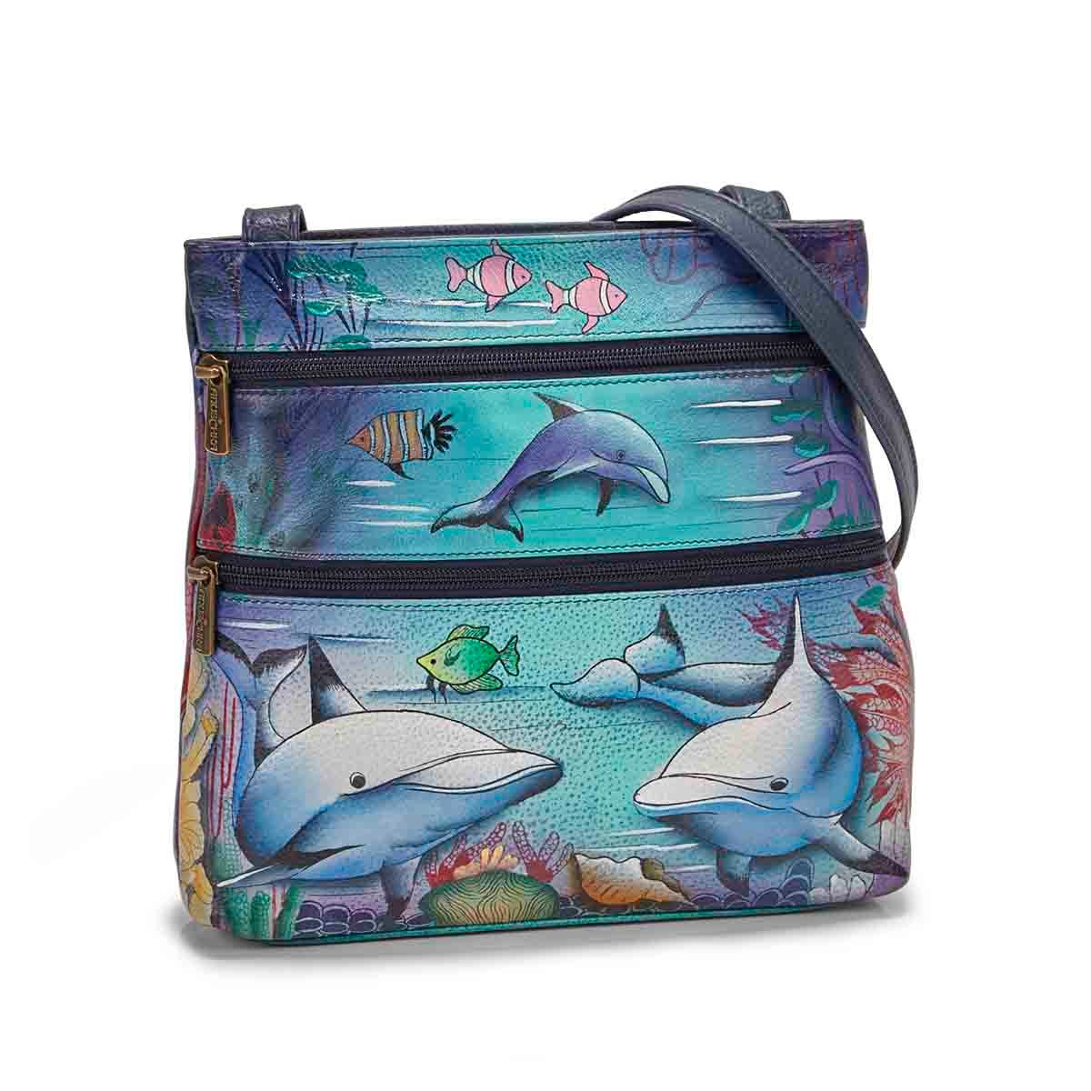 Women's DOLPHIN WORLD crossbody bag